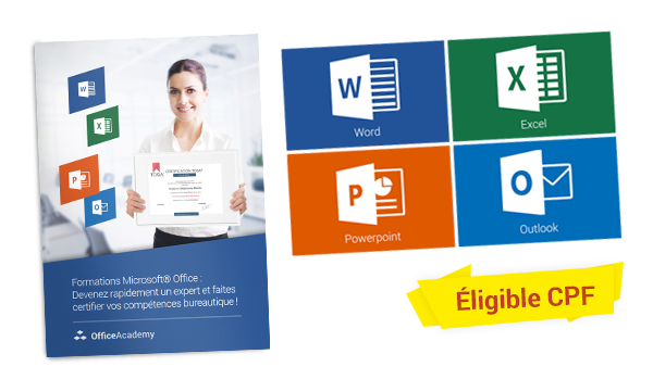 certification tosa formations microsoft word  excel